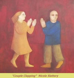 Couple Clapping - Nicola Slattery